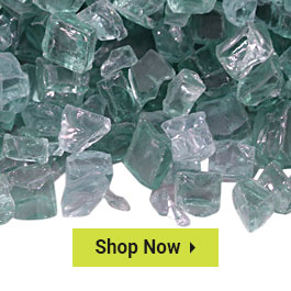 """Clearance 1/2"""" Classic Fire Glass"""