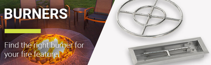 Shop All Burners. Fire Pit Pans - Best Fire Pit Burner Pans, Rings & Kits American Fire Glass