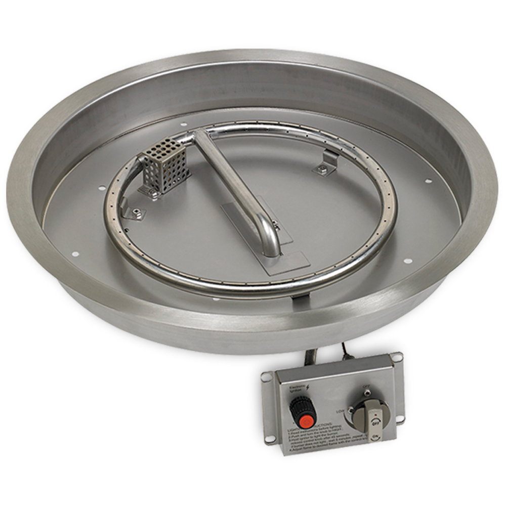Round Drop-In Pan Kit with CSA Safety Certification