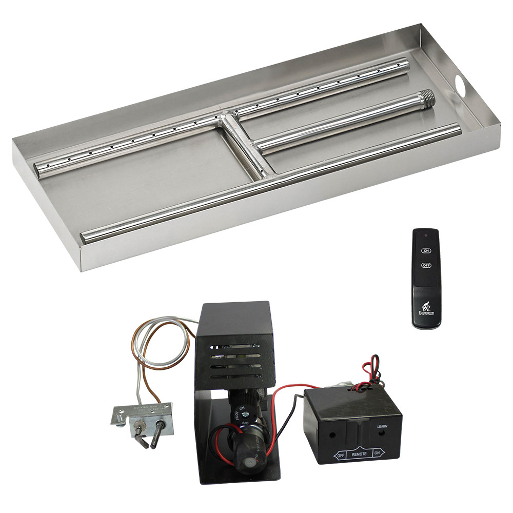 H - Burner Fireplace Kits