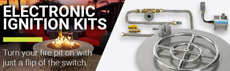 Shop All Electronic Ignition Kits - Shop Electronic Ignition Kits For DIY Fire Pits American Fire Glass