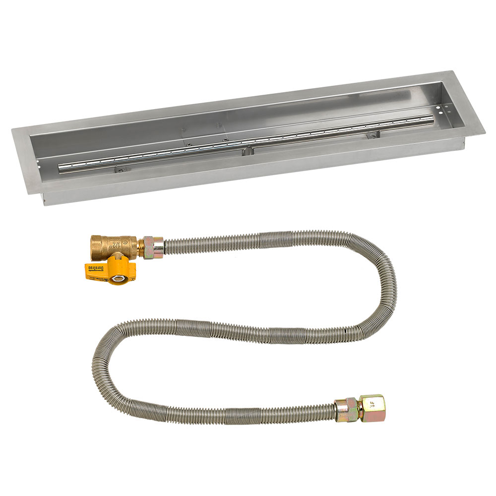 Linear Drop-In Pans with Match Light Kits