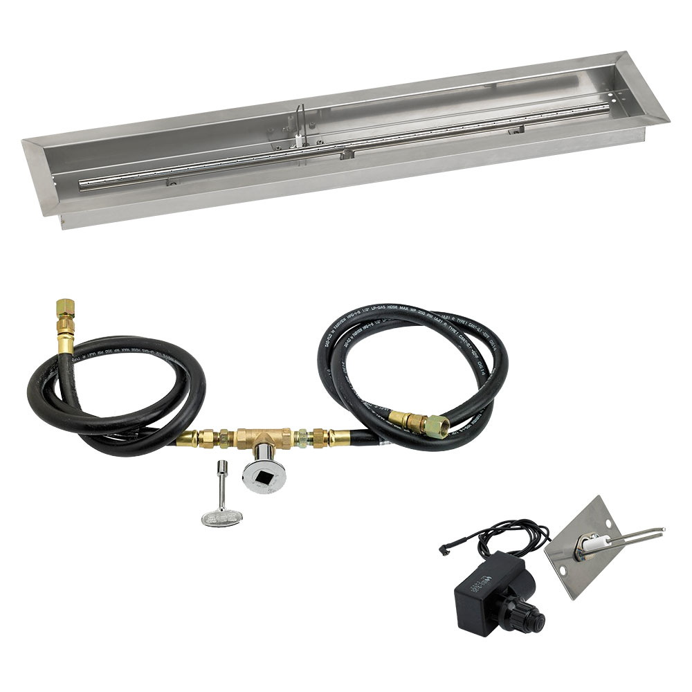 Linear Drop-In Pans with Spark Ignition Kits