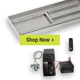 Fireplace Burner Kits