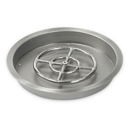 Round Drop-In Pans