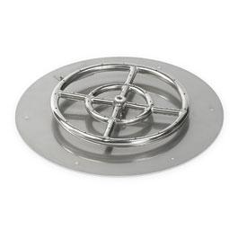 Round Flat Pans
