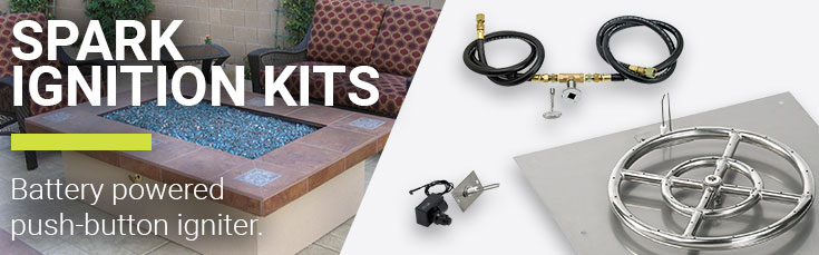 Get Spark Ignition Kits for DIY Fire Pits | American Fire Glass