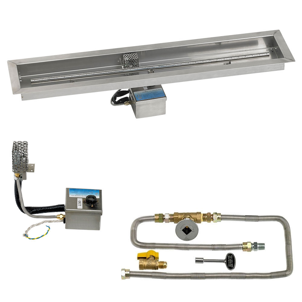 Linear Drop-In Pans with Electronic Ignition Kits